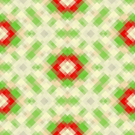 Kaleidoscopic low poly rhomb style vector mosaic background Illustration