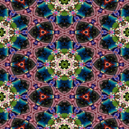 Spot kaleidoscopic seamless generated hires texture or background Stock Photo - 89583213