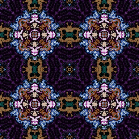 Kaleidoscopic ornamental pattern 写真素材