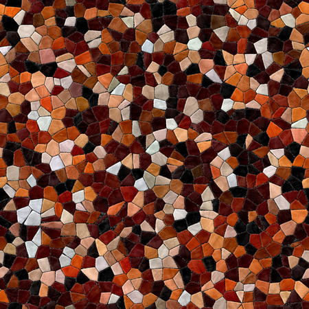 Glass mosaic kaleidoscopic seamless generated hires texture or background