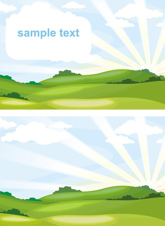 landscape Stock Vector - 4984867