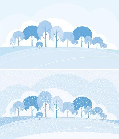 Winter landscape Stock Vector - 6126880