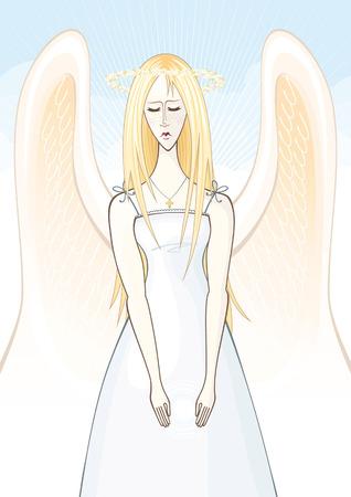 wing figure: angel