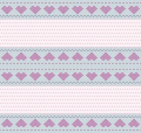 embroidered: valentine  background embroidered cross