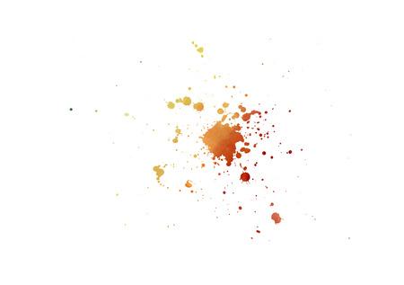 sputter: Artistic colorful sputter
