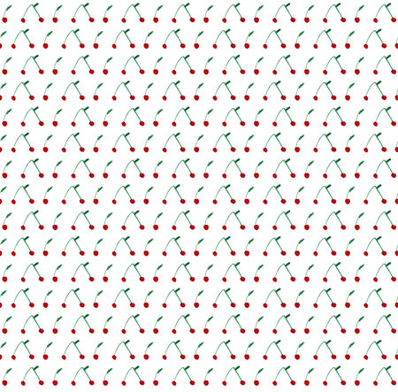 Seamless cherry illustration pattern illustration