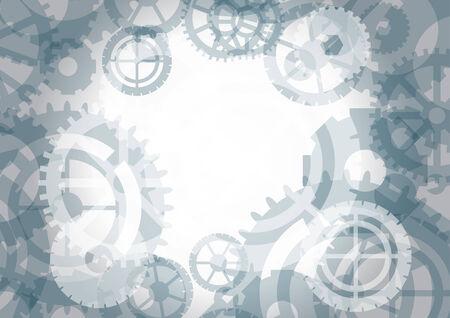 gearshift: Gears background, vector illustration Illustration