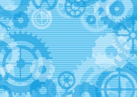 mecanica industrial: Artes de fondo, ilustración vectorial Vectores