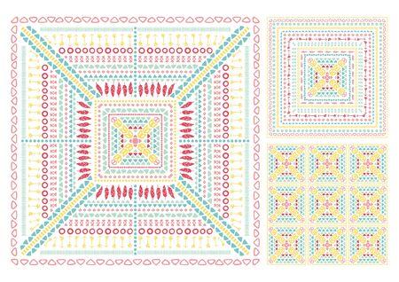 Tribal ethnic seamless Illustration