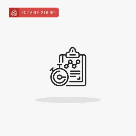 Routine icon vector. Routine icon for presentation. Ilustração