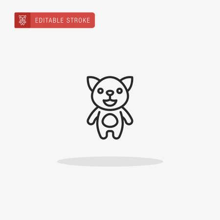 Cat icon vector. Cat icon for presentation.