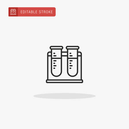 Test Tube icon vector. Test Tube icon for presentation.