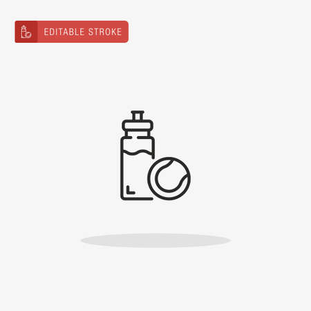 Water Bottle icon vector. Water Bottle icon for presentation. Illustration
