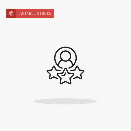 Traffic icon vector. Rating icon for presentation.