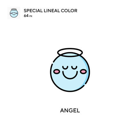 Angel Simple vector icon. Angel icons for your business project