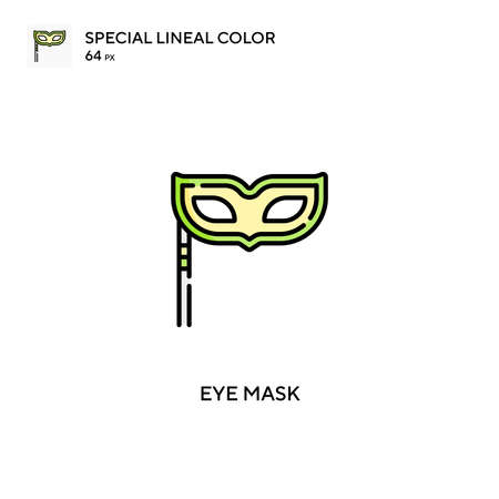 Eye mask Simple vector icon. Eye mask icons for your business project