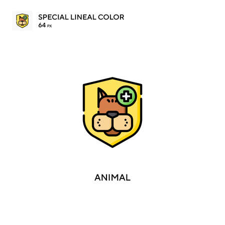 Animal Special lineal color vector icon. Animal icons for your business project