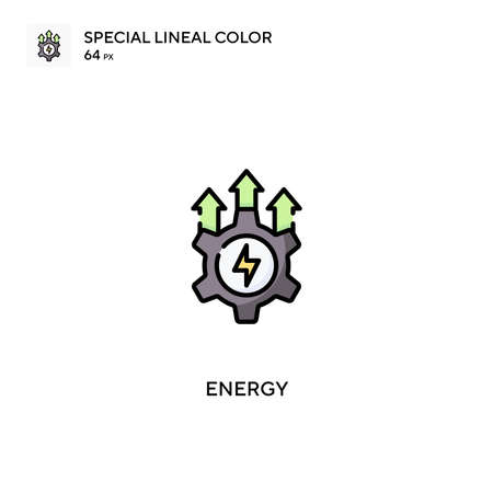 Energy Special lineal color vector icon. Energy icons for your business project