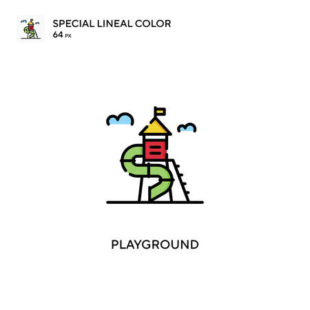 Playground Special lineal color icon.Playground icons for your business project