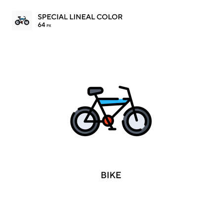 Boat Special lineal color icon. Illustration symbol design template for web mobile UI element. Perfect color modern pictogram on editable stroke.