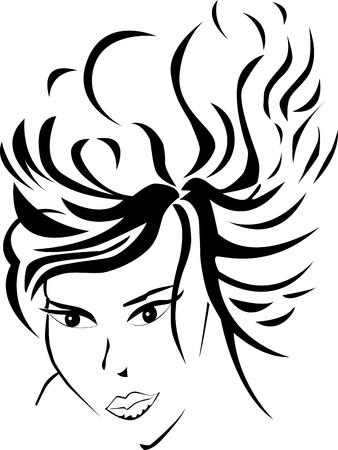 Women face Illustration