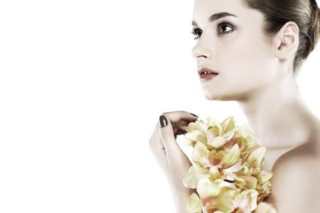 Les émotions, les cosmétiques Banque d'images - 10371533