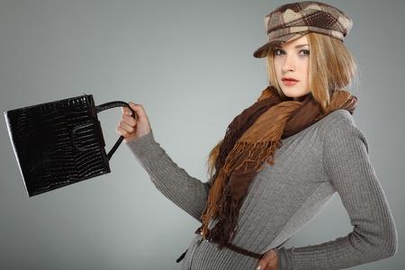Une photo de la belle fille est de style  Banque d'images - 10602532