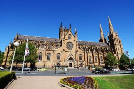 세인트 메리 성당, 시드니, 호주.