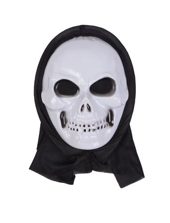 skull mask: Skull mask for halloween on white background.