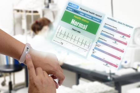 Elektronische Patientenakte Zeigen Die Gesundheit Des Patienten ...