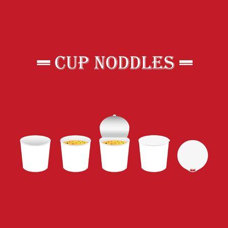 Cup noodle bowl design