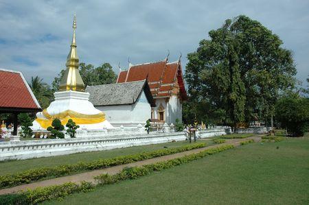 that: Phra That Kham Kaen. Stock Photo