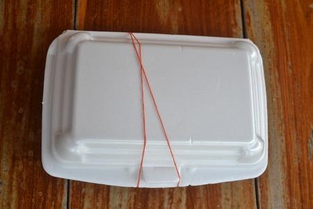 foam box: Food Box  foam Stock Photo