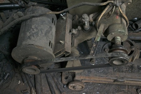 bomba de agua: Old water pump