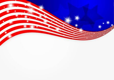 free vote: American flag background