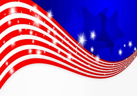 unity is strength: American flag background
