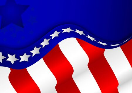 american election: American flag background