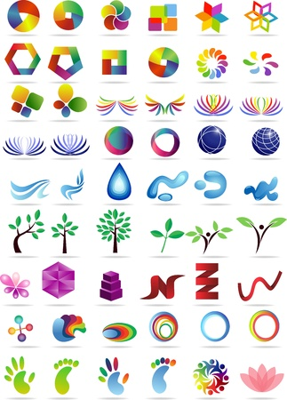 Logo collection set  Vector