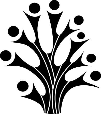 Family tree symbol Stock Vector - 19968585