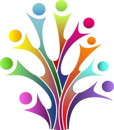 Family tree symbol Stock Vector - 19968583
