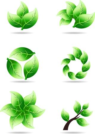 Logo de la nature Banque d'images - 20693928