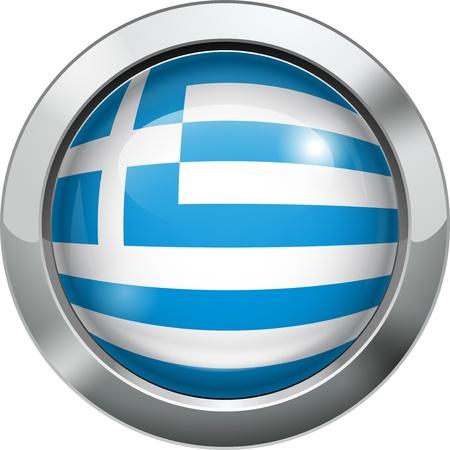 Argentina flag metal button  Stock Vector - 20693987