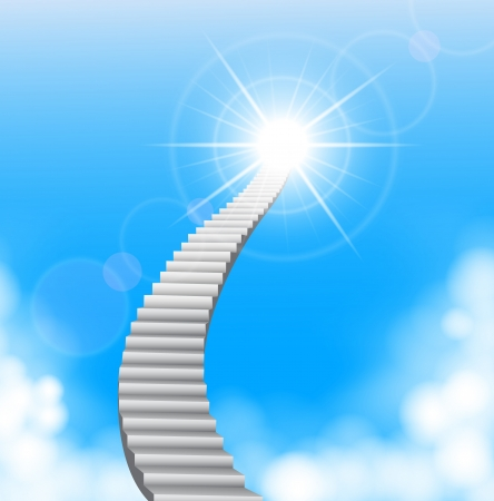 god's: The stairway to heaven  Illustration