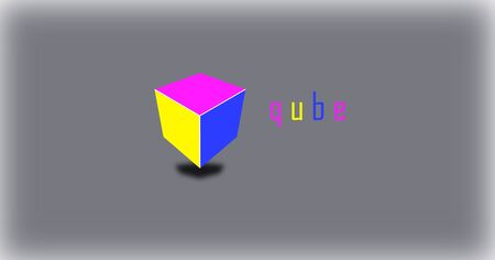 A business vector LOGO CUBE design.