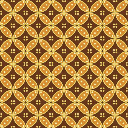 Geometric Seamless pattern background. Batik design seamless pattern
