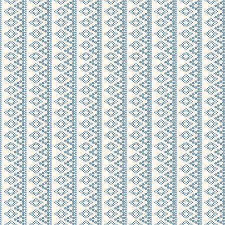 dots geometric ornamental with color blue . Abstract background fabric. creative design home decoration. tribal ethnic design. fabric design with dots geometric