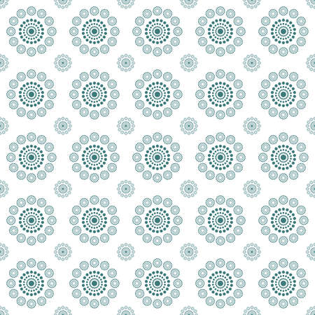 Seamless pattern dots circle. perfect motifs and texture for pillows, curtains, clothes, carpet, bedding, wallpaper. fabric design with motif dots circle.