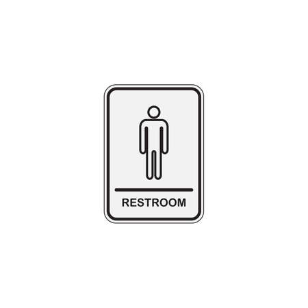 Toilet icon great for any use. WC Toilet Restroom Lavatory Men