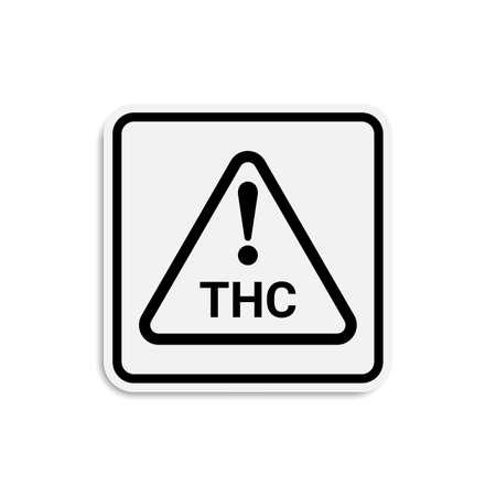Product packaging symbol of marijuana. vector illustration 向量圖像