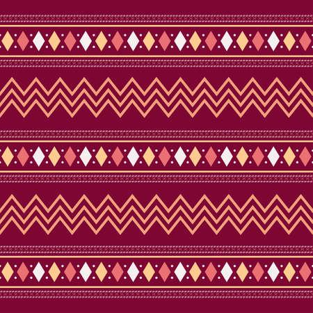 Seamless geometric background motif ulos batak, aztec, boho. seamless traditional textile bandhani sari border. creative seamless indiant bandhani textures border design